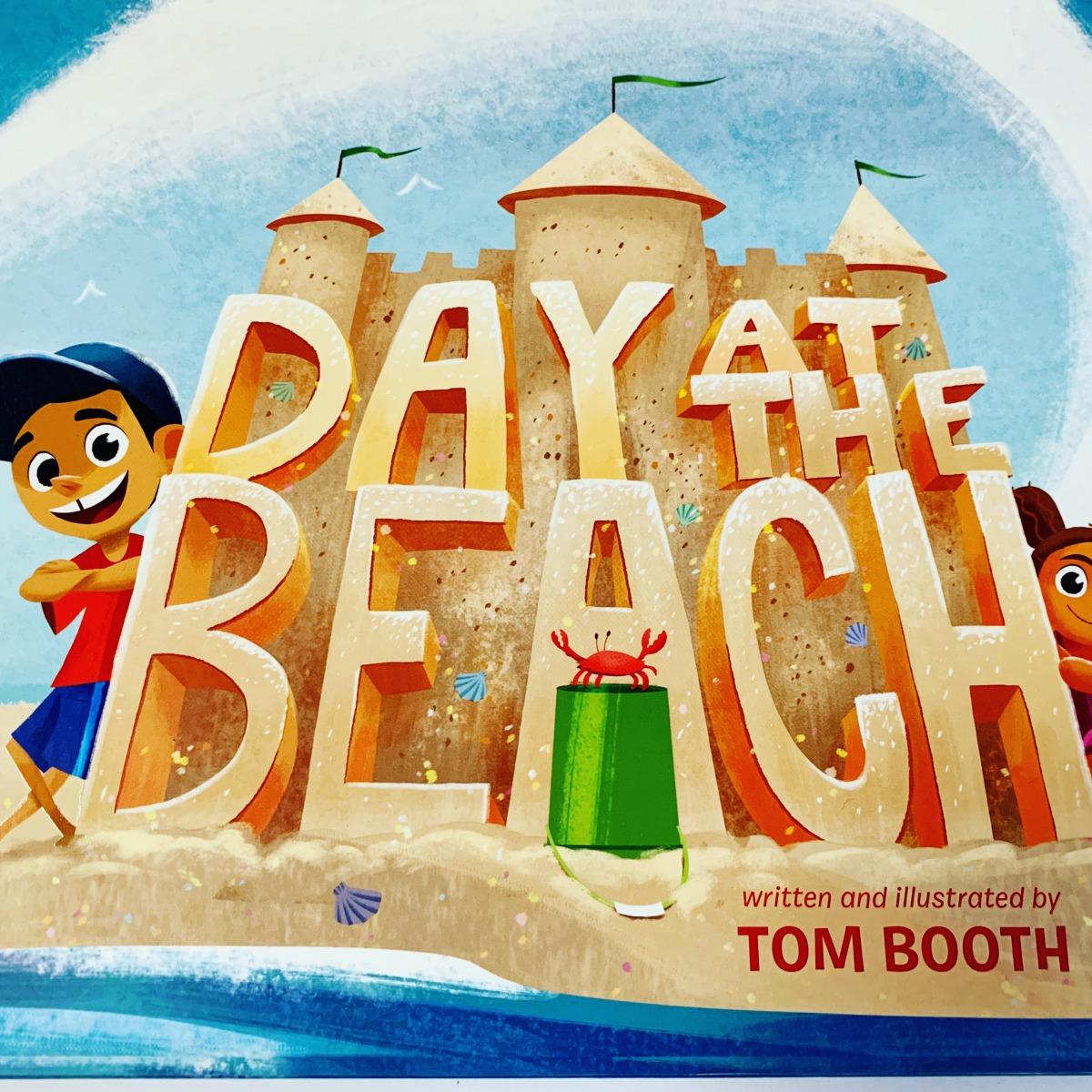 Day at the beach中学生におすすめの英語の本